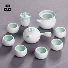 Drink Kaffee Tee-Sets, Keramik Teekanne Teetassen Chinesischen, High-end Chinesischen Kung Fu Tee-Set Porzellan keramik Teekanne, Heiße Verkäufe