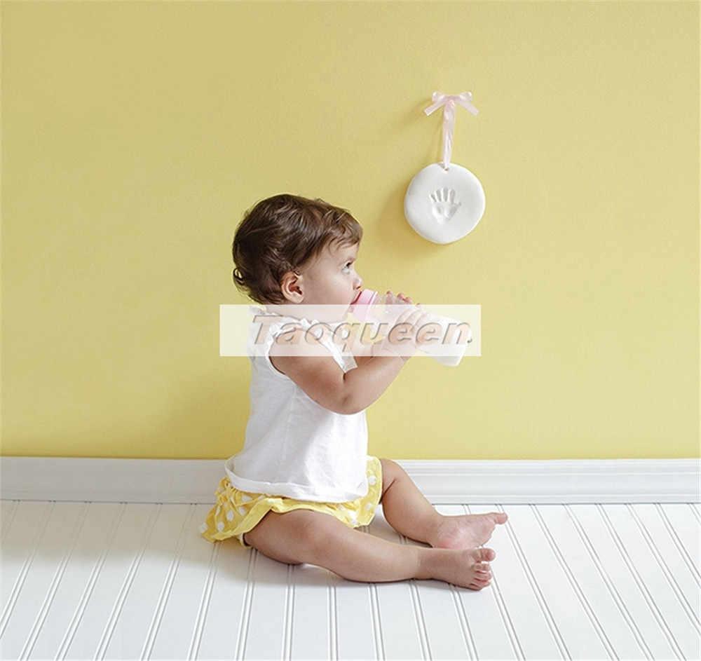 Taoqueen baby Care сушка мягкая глина Детские Handprint след отпечаток комплект литья родитель-ребенок рука подушечка отпечатков пальцев