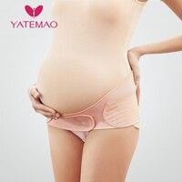 YATEMAO групп живота Пояс для беременных послеродовой корсет Поддержка дородовой уход бандаж для занятий спортом Беременность ремень