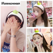 Cactus Bean Sprouts Headband Creative Personality Elastic Hair Band For Women Girls Cute Hairband Fashion Sweet Accessories