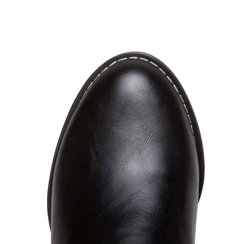 7a1b54438e7 YOUGOLUN Autumn Winter Womens Cowboy knee High Western Boots Ladies ...