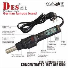 Original German famous brand DES DES-560B digital hot air gun soldering