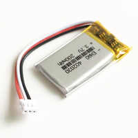 3.7V Lipo polymer battery rechargeable 200mAh 402030 JST 1.5mm 3pin customized wholesale CE FCC ROHS MSDS quality certification