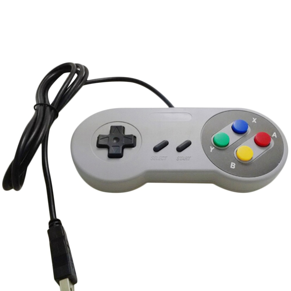 Ruby's shop New Retro Classic USB Controller PC Controllers Joypad Joystick Replacement for SNES Windows MAC Wholesale
