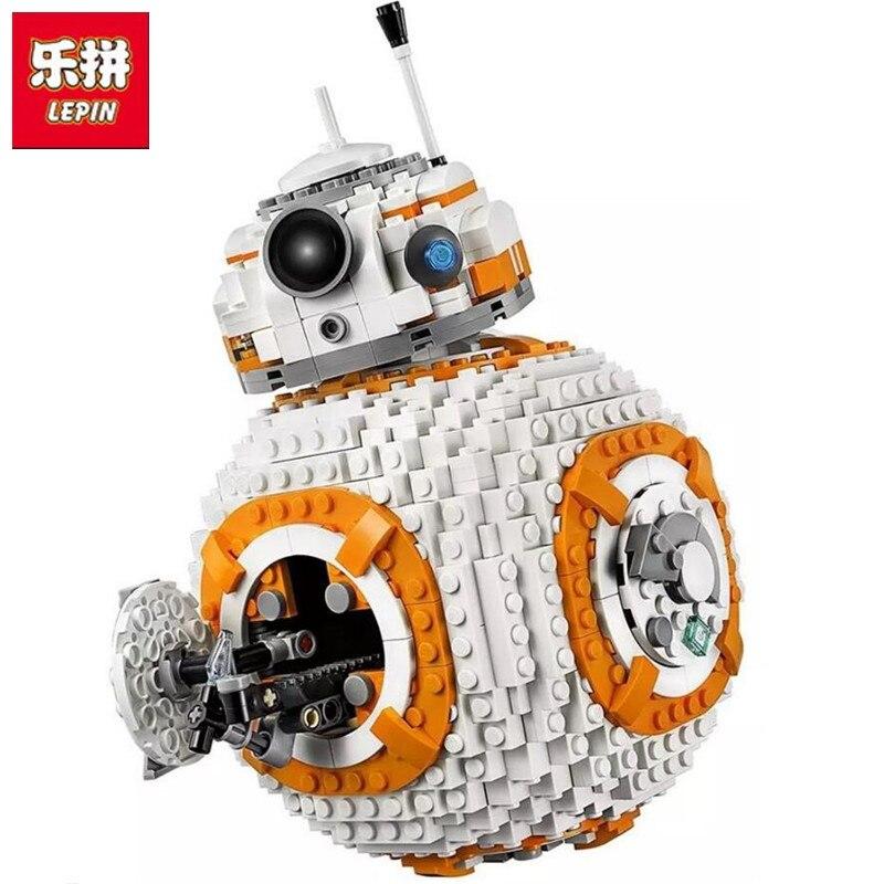 Lepin 05128 1238Pcs Star BB8 Robot Set Genuine With Star Series 75187 Set Building Blocks Bricks Toys As Christmas Gifts цена
