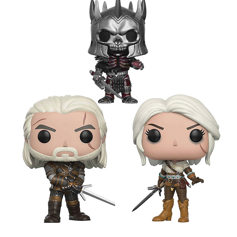 Funko Pop The Witcher 3 Wild Hunt Action Figures Doll Toys For Collection 4