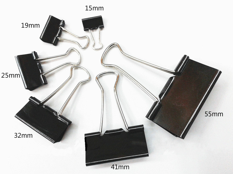large paper clips Large binder clips design provides optimum strength and compression plastic clip, steel wire construction sturdy, easy to use black/gray 2 w 36 clips model : off 82097pk specifications brand office impressions model off 82097pk package quantity (count) 36 reviews shipping & returns standard ground.