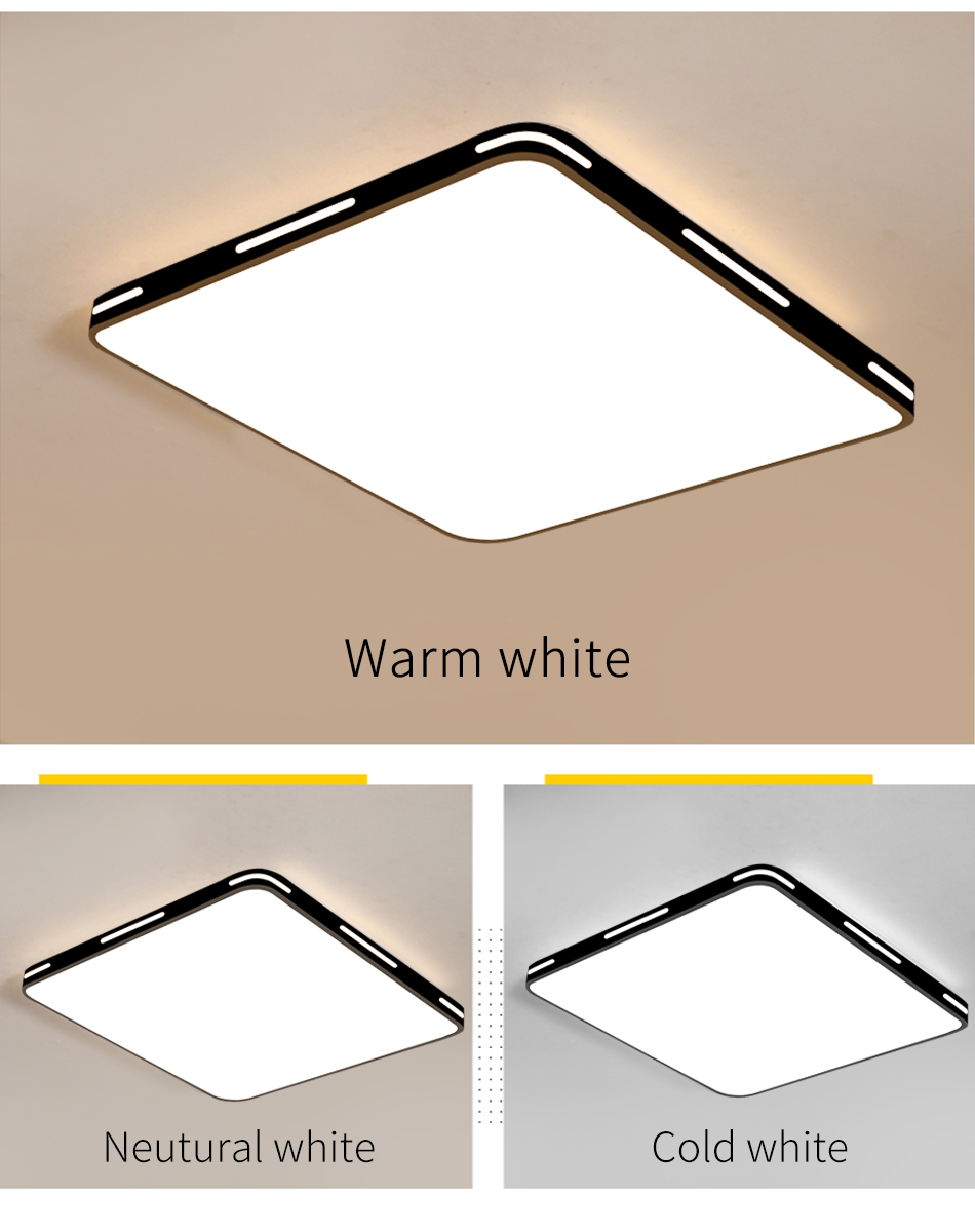 HTB1rzybUCzqK1RjSZPcq6zTepXaR Modern LED Ceiling Light Simple Decoration Fixtures for Study Dining Room Bedroom Living Room Balcony Ceiling Lamp AC110v 220v