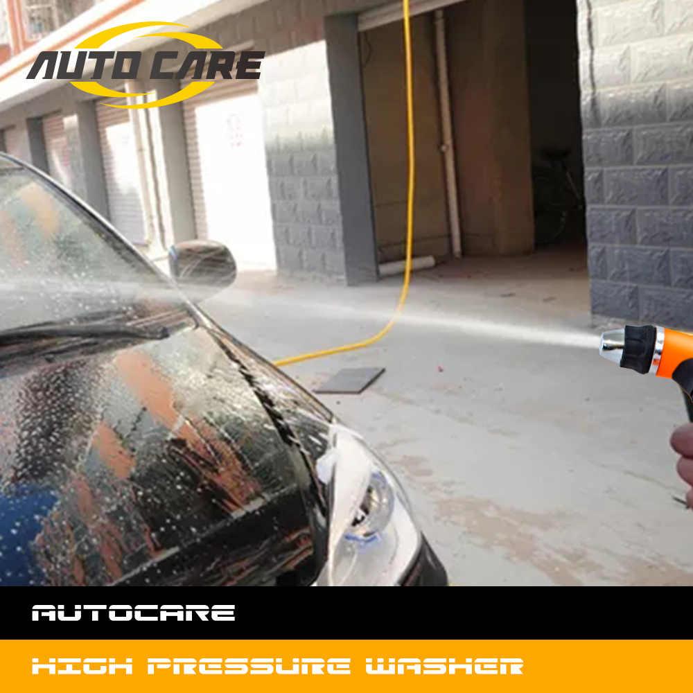 12 В пистолет для мойки авто насос Самовсасывающий высокого давления авто Электрический открытый портативный стиральная машина устройство для автомойки