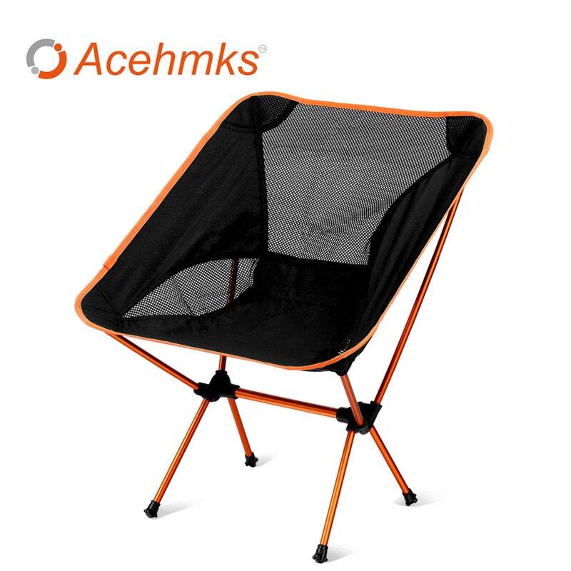 Portable Chaise De Camping avec Sac de Transport Léger et Confortable Camp Pliant pour la Plage, Pêche, heavy Duty 230 lb Capacité dans Chaises de plage de Meubles