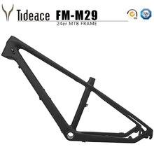 цена на Carbon kids bike frame 24er Carbon mtb Frame UD 13.5inch mountain bike carbon frame 135*9mm max 2.3 tire mtb bicycle frames