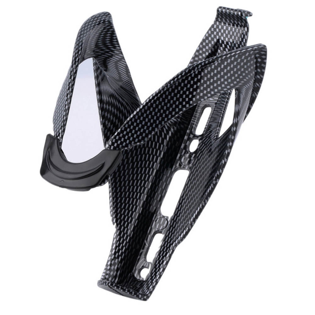 Road Mountain Bicycle Water Bottle Holder Holding Rack Cage Bike Outdoor Lightweight Durable Carbon Fiber Rack Cycling Accessory