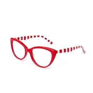 Image 3 - Gafas de acetato hechas a mano para ordenador, lentes antirayos azules para chicas jóvenes, lentes de ordenador, 2018