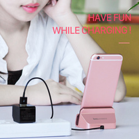 ORIGINAL HOCO CPH18 Charging Holder For Micro USB Metal Desktop Stand High Quality Charger Dock Station