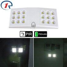 ZjRight 18LED Cabinet lights Infrared scanning sensor indoor lighting PIR Motion Kitchen bedroom Wardrobe foyer Stair night lamp