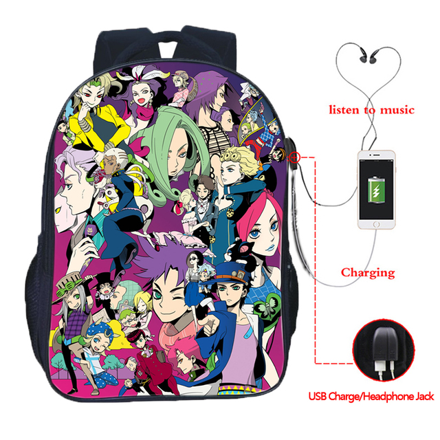 JoJo No Kimyou bags