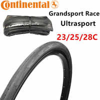 Neumático de bicicleta de carretera Continental GRAND Sport RACE ULTRA Road 700 * 23c 25c 28c bicicleta de ciclismo 700c carretera neumático de bicicleta