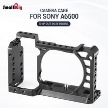 SmallRig Dslr kamera Rig kafes Sony A6500 /A6300 alüminyum alaşımlı kafesi W/ Arca İsviçre QR plaka (Yükseltme sürümü)-1889