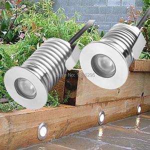Image 1 - Водонепроницаемый утопленный напольный светодиодный светильник, точечный светильник для сада, уличное освещение для террасы, палуба, 12 В, IP67