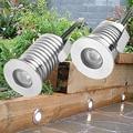 12В IP67 водонепроницаемый наружный светодиодный встраиваемый напольный светильник Точечный светильник для дворика навесной светильник сад...