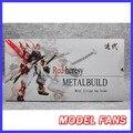 FÃS MODELO IN-STOCK brinquedo espada de metal para MB Gundam heresia vermelho para a Coleção (para não conter a MB gundam vermelho heresia)