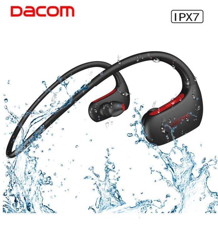 Оригинальный DACOM L05 водонепроницаемой экш-музыки гарнитура беспроводные Bluetooth наушники супер Спорт Бег гарнитура с микрофоном для iphone