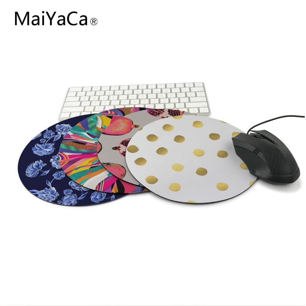MaiYaCa Polka Dot Nieuw Klein formaat rond muismat Antislip rubberen - Computerrandapparatuur - Foto 6