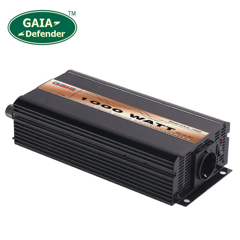 1000W Pure Sine Wave Power Inverter Peak 2000w off-grid DC12V 24V 48V AC 100V 110V 220V 230V 240V solar wind battery car