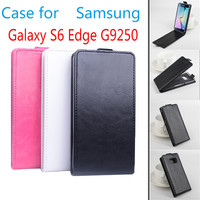For Samsung S6 Egde G9250 Case New Luxury Protective Vertical Open Up And Down Leather Cover