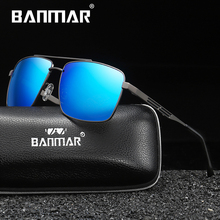 BANMAR Polarized Sunglasses Mens Driving Shades Male Sun Glasses For Men Original Luxury Brand Designer Oculos Women