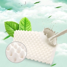 100 Natural Latex Pillow Thailand Memory Foam Orthopedic Neck Fiber Slow Rebound Soft Massage Cervical Health Care