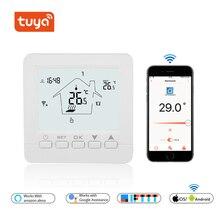 Wifi термостат умный термостат газовый котел/вода/электрический подогрев пола wifi управляемый термостат голосовой 16A/3A