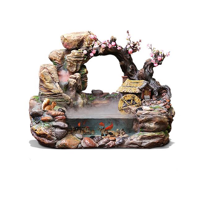 Rockery Garden Fountain Water
