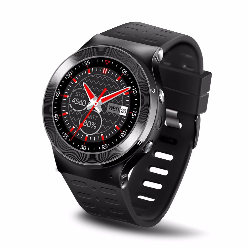 Original ZGPAX S99 Smart Watch for Man 3G Android Phone Quad Core WiFi GPS BT4.0 Facebook Twitter Skype Google Health Tracker zgpax s99 3g android 5 1 smartwatch phone black