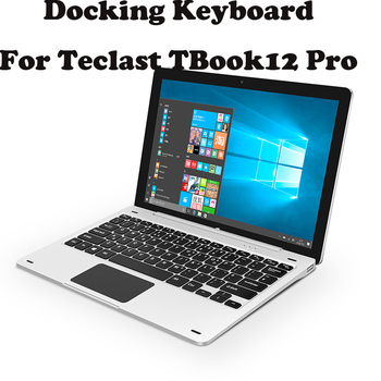 Magnetic Docking Local Language Layout Keyboard For 12.2 inch For Teclast TBook12 Pro tbook 12pro Tablet PC With Free 4 Gifts