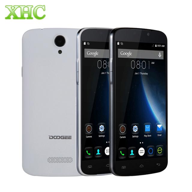 In Stock DOOGEE X6 5.5''3000mAh Android 6.0 Smartphone MT6580 Quad Core 1.3GHz RAM 1GB ROM 8GB WCDMA 3G 1280 x 720 Mobile Phone