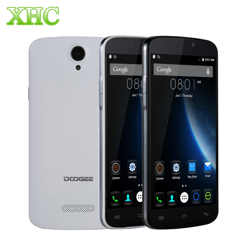 DOOGEE X6 5.5''3000mAh Android 6.0 OS MT6580 Quad Core 1.3GHz RAM 1GB ROM 8GB WCDMA 3G 1280 x 720 Mobile Phone
