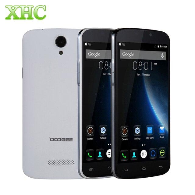 Оригинал doogee x6 5.5 7-дюймовый wcdma 3 г 3000 мАч android 6.0 смартфон MT6580 Quad Core RAM 1 ГБ ROM 8 ГБ 1280x720 Mobile телефон