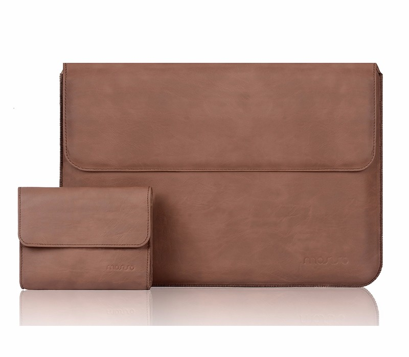 MOSISO for Macbook Air 13 A1466/A1369 Premium PU Leather Sleeve Case for Macbook Pro13 Retina A1425/A1502 Laptop Protective Case