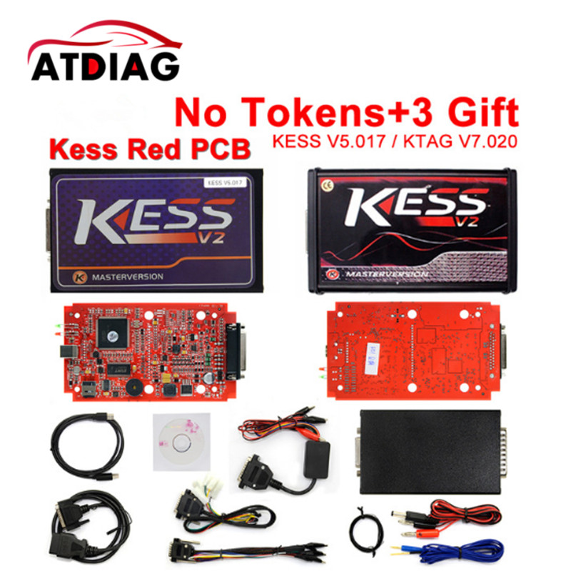2017 Newest Ktag K TAG V7.020 KESS V2 V5.017 SW V2.23 Master ECU Chip Tuning Tool K-TAG 7.020 Online Operate Better KTAG V7.003 unlimited tokens ktag k tag v7 020 kess real eu v2 v5 017 sw v2 23 master ecu chip tuning tool kess 5 017 red pcb online