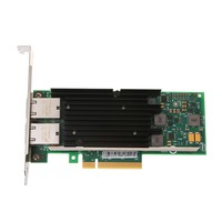 Intel X540 T2 10GbE Converged Network Adapter(NIC) X540 Chipset PCI E X8 Dual RJ45 Copper Port CNA