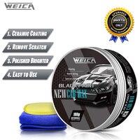 Black Car Solid Wax Auto hard Wax Coating Paint Care Scratch Repair Carnauba Wax Polish for Black Car 180g Free Shipping
