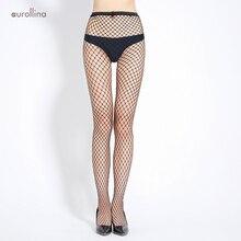 купить Sexy Women Black Fishnet Crotchless Tights Summer Ultra-thin Silk Tights Female Hole Jeans Bottoming Fishnet Stockings Pantyhose по цене 194.44 рублей