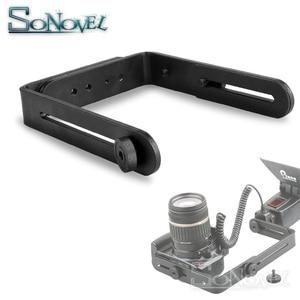 Image 1 - Dual L Shape Camera Flash L Bracket bilateral frame twin double L bracket Speedlite & DSLR Camera Holder/Mount, Photo Studio