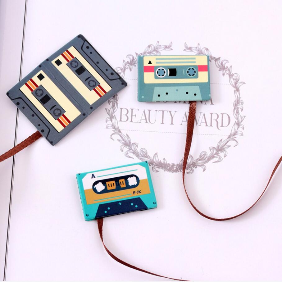 2 pcs/Lot Forest animal magnet bookmark Cassette tapes Book mark ...