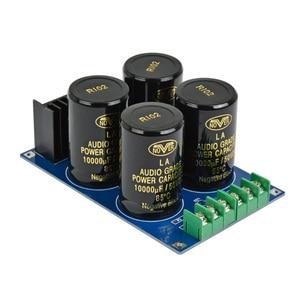 Image 2 - Aiyima Versterker Gelijkrichter Filter Board 4x10000 UF Grote condensator Volledige Brug Filter Subwoofer DC Versterkers DIY KITS