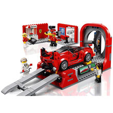 City SPEED CHAMPIONS FXX K Development Center Building Blocks Sets Bricks Classic Model Kids Toys For Children Gift(China)