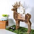 Таблицы персонализированные творческая дизайнерская мебель стеллажи животное животное лось гостиной журнальный столик/этаж Прихожая