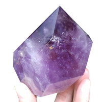 Amethyst Stones and Crystal Healing Ametrine Crystals Natural Stone Gemstone Orgone Wand Rough Raw Metaphysical Chakra Pierre
