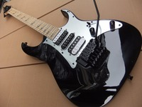 Wholesale New Arrival 6 String Electric Guitar 24 Frets Blade Inlay In Black 100807